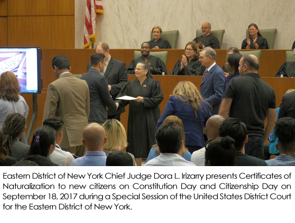 Justice For All: Courts And The Community   Civic Ceremonies